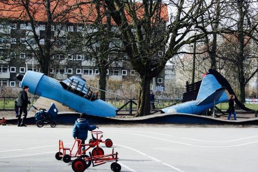Kopenhagen Kind Spielplatz