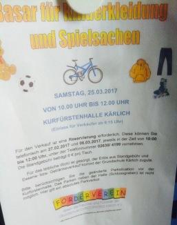 Kleider- und Spielzeugbasar Koblenz