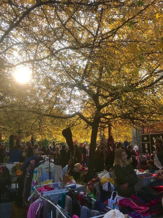 Kinderflohmarkt Berlin Helmholzplatz Kindercafe