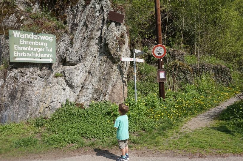Brodenbach Ehrenburg Ehrbachklamm Wanderweg Mosel Ausflug Kinder kinderfreundlich