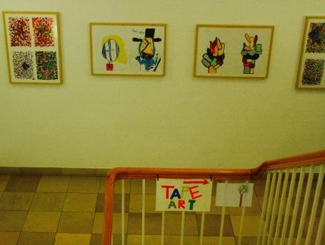 Ludwig Museum Ludwig Tape Art Kinder Ludwigmuseum Koblenz